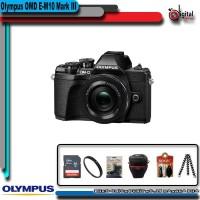 Olympus OM-D E-M10 Mark III Kit 14-42mm Paket Hemat Kamera Mirrorless