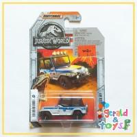 MATCHBOX Jeep Wrangler Jurrasic World - Mobil Mainan Diecast