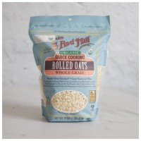 Bob s Red Mill Organic Quick Cooking Rolled Oats 453g