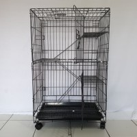 Kandang Kucing Tingkat 3 Size 60x40x90 CM
