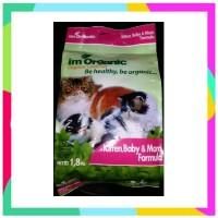 Im Organic Kitten Baby Mom Formula 1 8kg IMO KBM Pakan Kucing