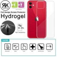 Hydrogel anti gores BELAKANG Iphone 11 Back screen guard antigores