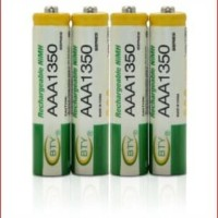 BATERAI BTY ORIGINAL BATTERY CAS CHARGER AAA 1350Mah RECHARGEABLE 1,2V