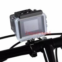 Roll Mount Handle Bar Bracket Bike Bicycle Gopro Osmo Action Insta360
