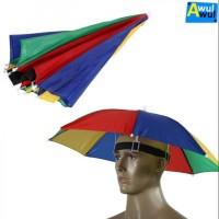Payung Kepala   Topi Payung   Payung Pantai   Topi Pantai