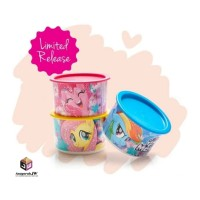 Tupperware my little pony Canister 685ml 3pcs