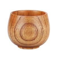 (JW) Jujube Wood Cup Handmade Natural Wooden Breakfast Drinkware