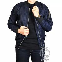 Jaket Pria / Jaket Cowo / Jaket Murah / Jaket Bomber Kent Polos 2 in 1