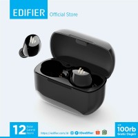 Edifier TWS1 BT Earbuds - Truly Wireless Stereo In-Ear Earphone Hitam