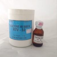Silicon Rubber RTV-52 - Silicone Rubber RTV 52 1Kg