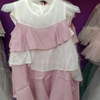 Dress Anak Import 3 Layer