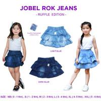 Kazel Jobel Rok Jeans Skirt Anak Denim Perempuan isi 2