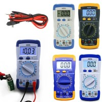A830L LCD Digital Multimeter AC DC Voltage Diode Freguency Handheld Mu