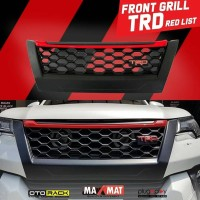 FRONT GRILL FORTUNER TRD RED LIST 2016-2019
