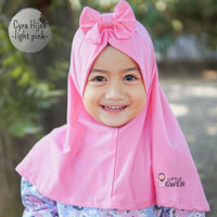 Hijab Bergo Instan Polos Anak Anak Bayi Balita Perempuan