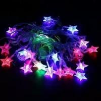Lampu Natal Model Bintang Warna Warni Lampu Tambler Lampu Tumblr Dekor