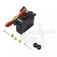 JX PDI-1171MG 17G Metal Gear Motor Micro Mini Analog Servo untuk RC