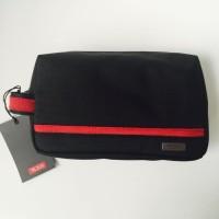 Clutch / Tempat VAPE/ Organizer TUMI Medium Kit - Black Red