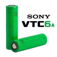 VTC 6A Sony Vape Battery 3000mAh 18650 - 100% Authentic Baterai Sony