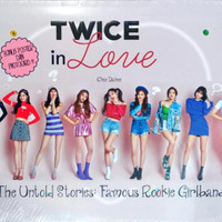 TWICE IN LOVE THE UNTOLD STORIES FAMOUS ROOKIE GIRLBAND   POSTER