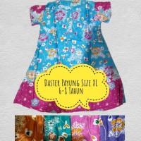 Daster Payung Anak Ukuran XL Pakai Lengan Umur 6-8 Tahun 1 Seri 5 Pcs