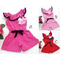 Baju Anak Baju Bayi Setelan Cewek F465 little lulu jumpsuit sabrina