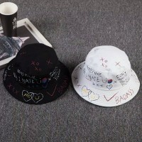 Bucket Hat Pria Wanita Unisex / Topi Korea Kpop Buckethat Pria Wanita