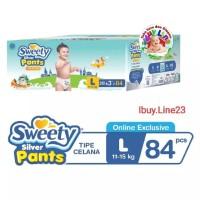 Sweety Silver Pants L 84 (3 X L28) Box