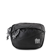 Urban State - Poly Nylon Mini Waistpack - Black