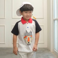 Wangki Anak Anak| Kaos Berkerah Anak| W01-Little Prince - LARGE