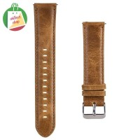 Strap Kulit Leather Samsung Galaxy Watch Active 2 44mm Tali Jam Kulit