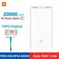 Powerbank Power Bank Xiaomi MI 2C 20000 mAh Fast Charging Original