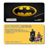 kartu mandiri 50 rb etoll e-money e-toll batman and robin logo