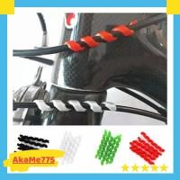 Spiral Karet Pelindung Kabel Housing Frame Sepeda Cable Protector