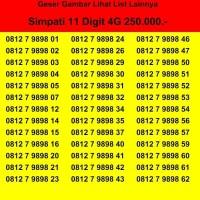 SIMPATI 11 DIGIT, nomor cantik