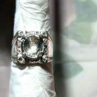 gagang cincin permata perak 02
