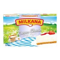 MILKANA CREAM CHEESE 227GR - KRIM KEJU - CHEESE KRIM - CHEESE CREAM -