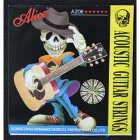 1 Set Senar Gitar Alice Akustik / Acoustic A206 series size 11