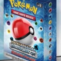 HOT SALE Pokemon Game Kartu Koleksi Starter Deck GX Matahari & Bulan