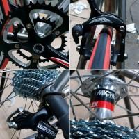 Sepeda balap Titanium Fuji Campagnolo