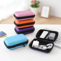 PROMO COD EARPHONE PROTECT CARRY HARD DATA CABLE STORAGE BOX CASE BAG