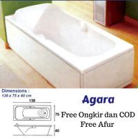 Bathtub Agara FREE Afur Kuningan Gratis Ongkir jabodetabek