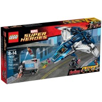 Lego Original 76032 The Avengers Quinjet Chase MiSP Tanpa Dus