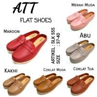 Sepatu karet cewe flats shoes woman att slk 555 murah