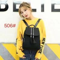 TF506 Tas Ransel Wanita Fashion Korea Import High Quality