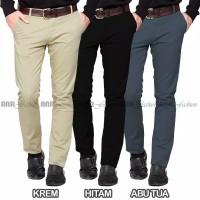 f.pria Celana Panjang Standard Reguler Fit Chino Cino Chin