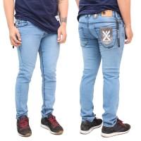Celana Jeans Pria   Bioblit   skinny Jeans - Biru Muda, S