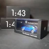 1/43 Schuco Volkswagen New Beetle Dealer Box VW Kodok Diecast Miniatur
