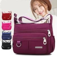Sling Bag Wanita / Multipurpose Nylon / Tas Selempang Nylon