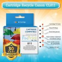 Cartridge Tinta Recycle Canon CL-811 Printer IP2770 MP287 MX328 COLOR